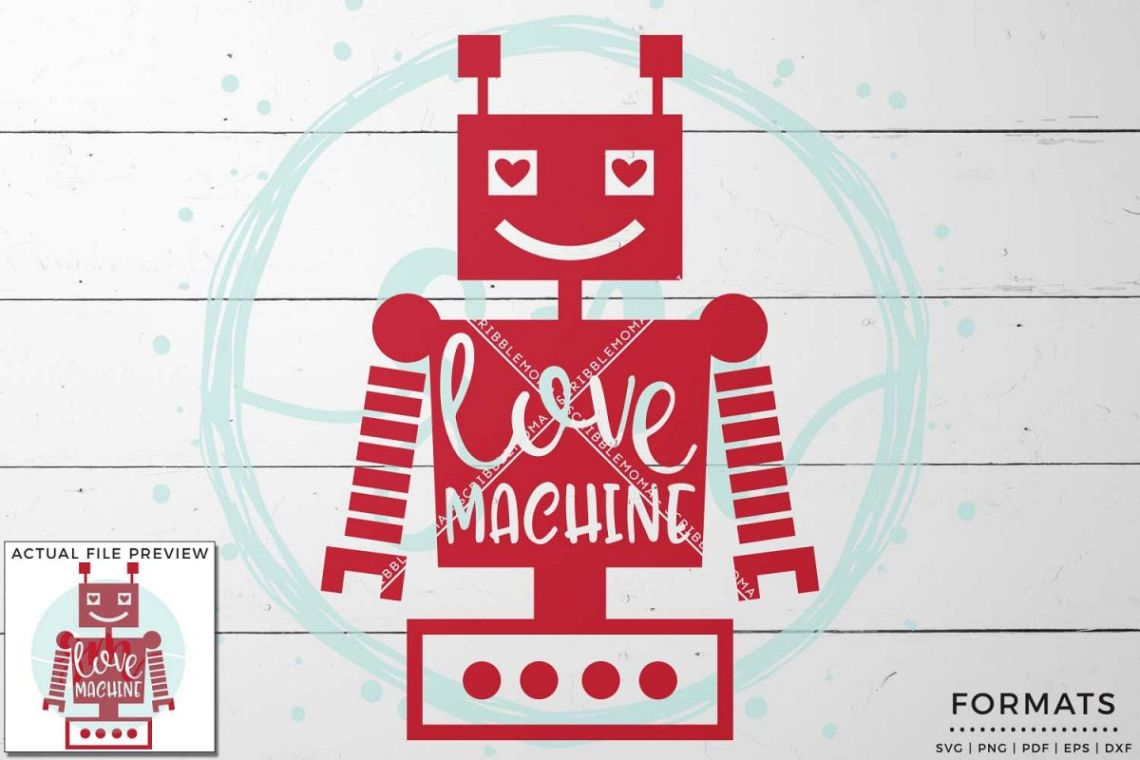 Download Love Machine SVG - Small Commercial Use SVG & Instant Download