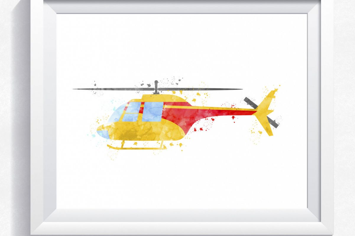 hight resolution of helicopter printable watercolor helicopter print printable helicopter wall art instant download helicopter