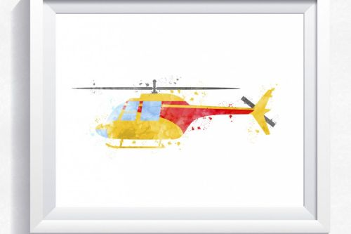 small resolution of helicopter printable watercolor helicopter print printable helicopter wall art instant download helicopter