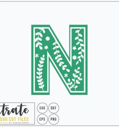 letter n svg alphabet dxf cut files vector clipart example image 1 [ 1160 x 774 Pixel ]