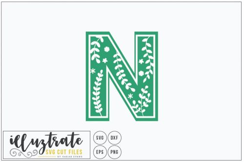 small resolution of letter n svg alphabet dxf cut files vector clipart example image 1