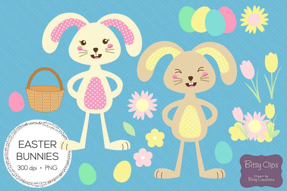 hight resolution of easter bunny illustrations commercial use clipart example image 1