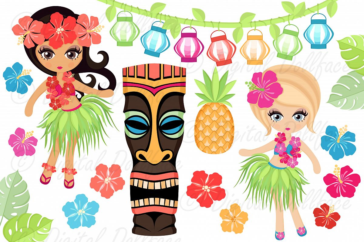 hight resolution of luau clipart example image 1