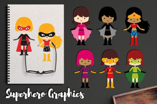 small resolution of more girl superhero clipart graphics superheroes girls example image 1