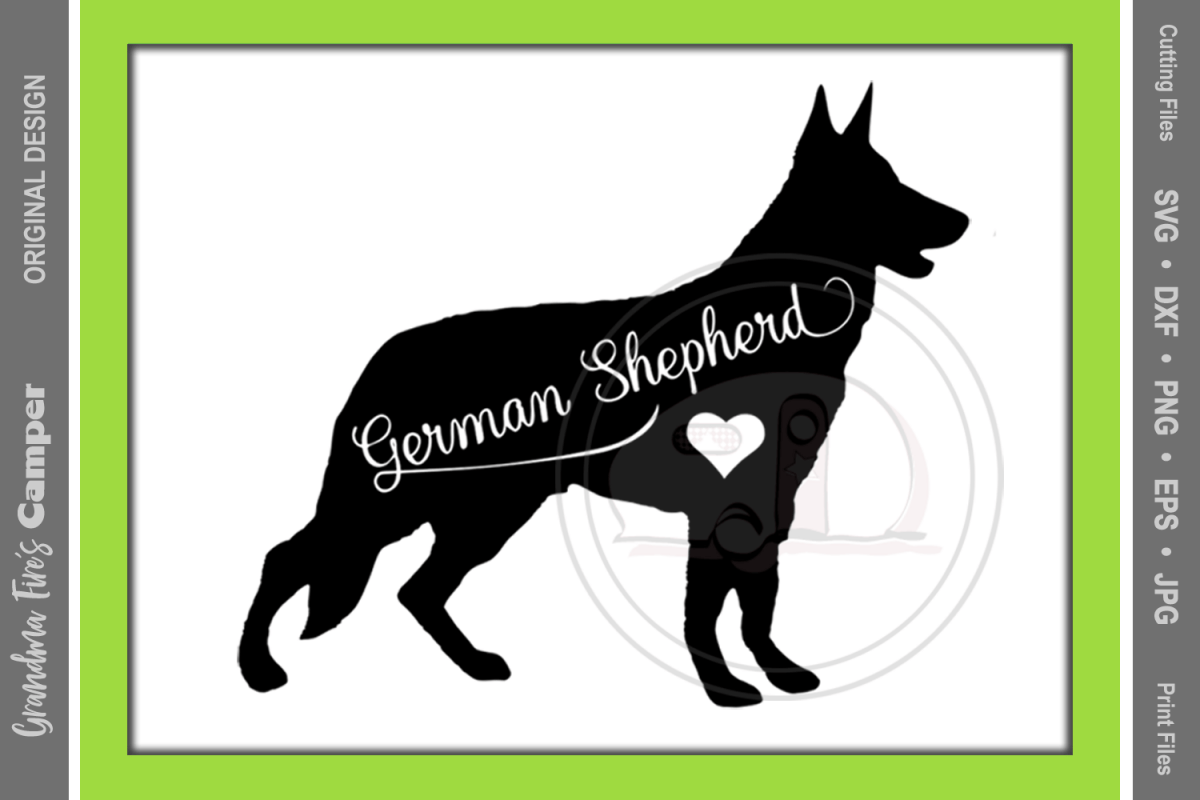 German Shepherd Printable Dog Pictures