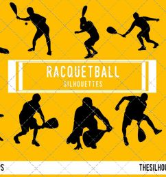 racquetball silhouette racquet ball player clipart racquetball sports vector svg png  [ 1188 x 792 Pixel ]