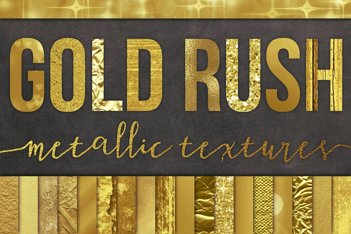 28 gold foil textures
