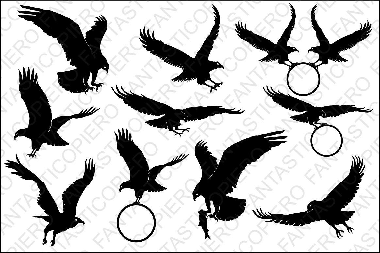 Bald Eagle Svg Files For Silhouette Cameo And Cricut