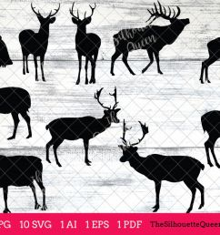 elk silhouettes clipart clip art ai eps svgs jpgs pngs  [ 1200 x 800 Pixel ]