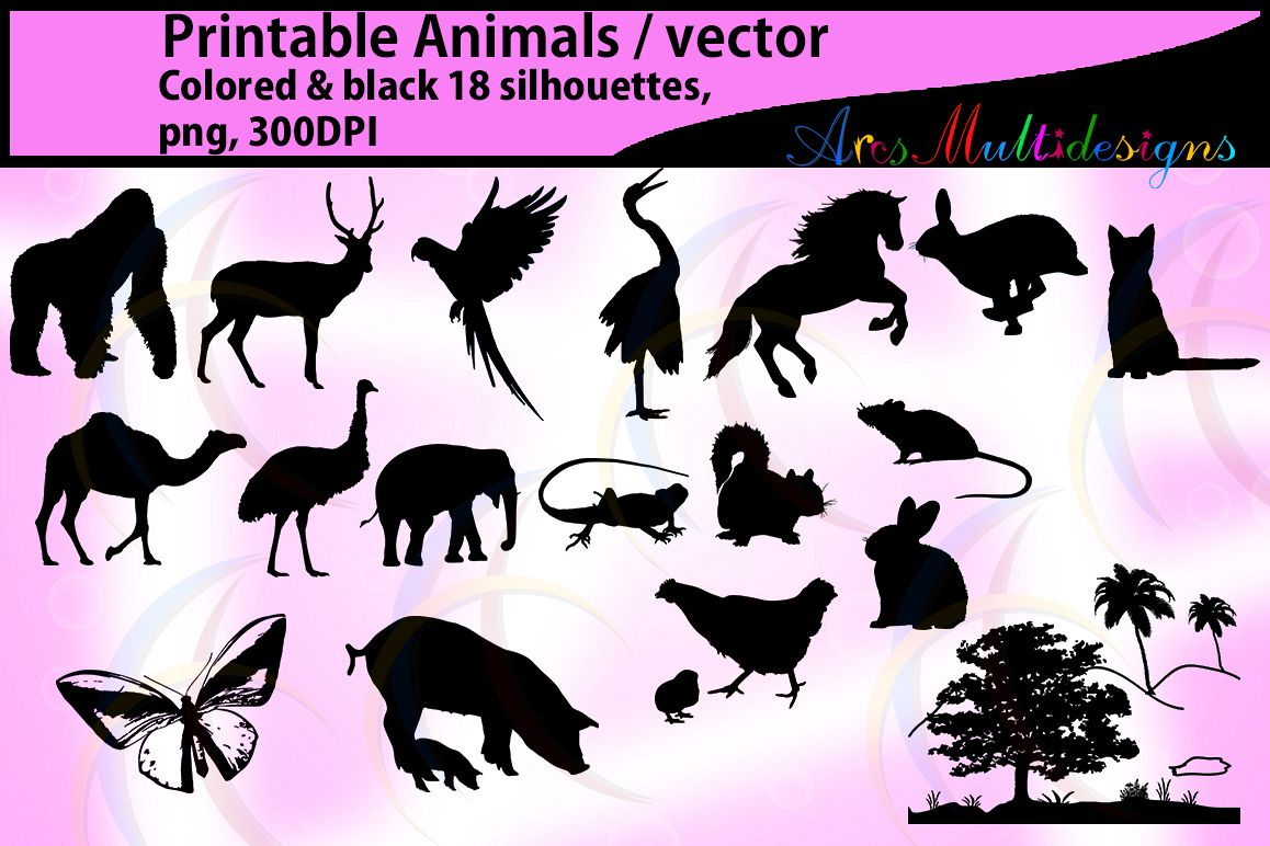 hight resolution of animal silhouette clip art silhouettes clipart clip art animal silhouette clipart animal digital silhouettes clip art
