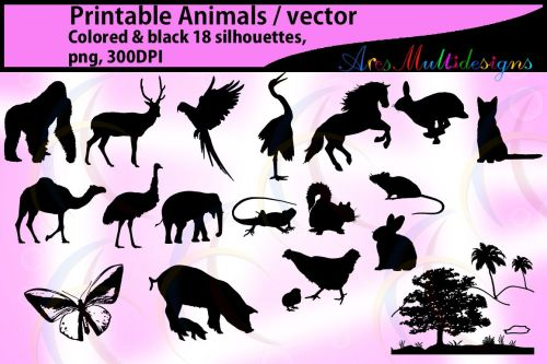 small resolution of animal silhouette clip art silhouettes clipart clip art animal silhouette clipart animal digital silhouettes clip art