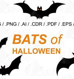 halloween bats silhouettes clip art halloween party vectors example image 1 [ 1200 x 800 Pixel ]