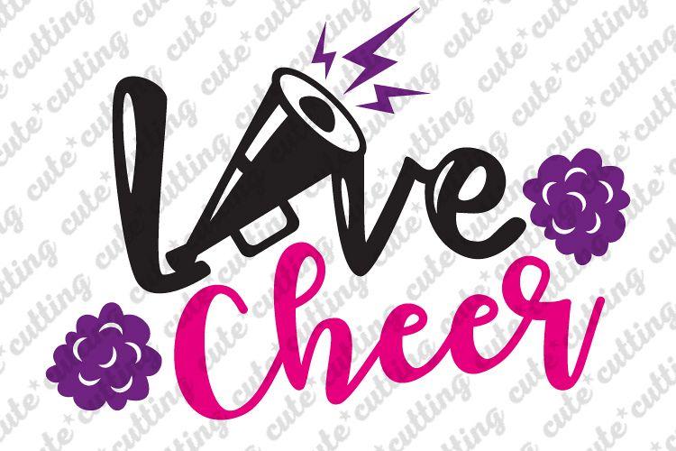 Download Love cheer svg, cheer svg, Cheerleader svg, dxf, png, pdf ...
