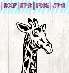 giraffe svg giraffe clipart giraffe face svg svg files animal svg  [ 1200 x 800 Pixel ]