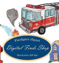 firefighter clipart fireman clipart fire truck clipart png example image 1 [ 1200 x 800 Pixel ]