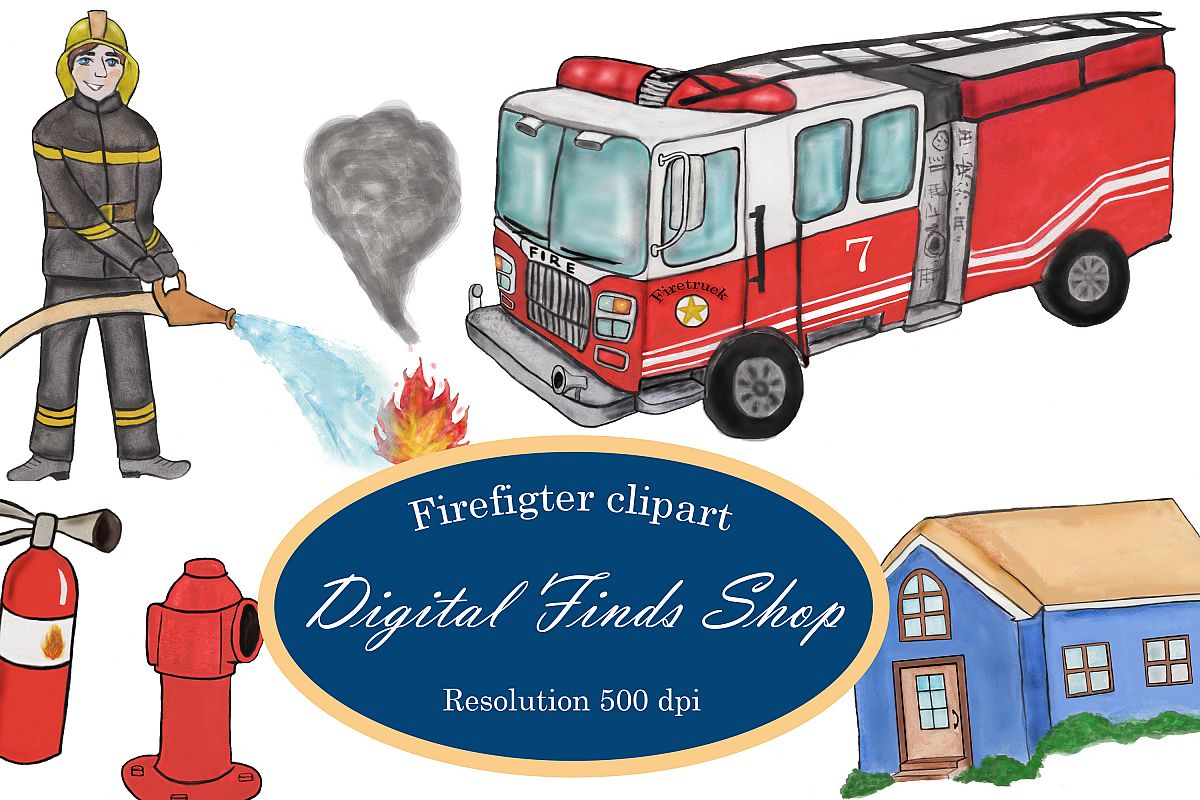 hight resolution of firefighter clipart fireman clipart fire truck clipart png example image 1