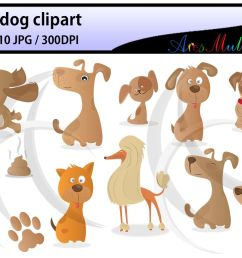 puppy dog clipart digital clip art for scrapbooking card making cupcake toppers paper crafts  [ 1158 x 772 Pixel ]