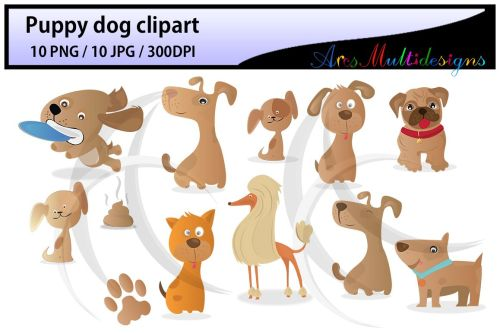 small resolution of puppy dog clipart digital clip art for scrapbooking card making cupcake toppers paper crafts