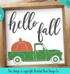 hello fall svg truck clipart hello fall clipart truck svg example image 1 [ 1200 x 800 Pixel ]