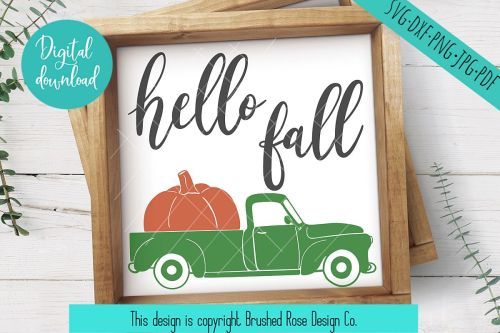 small resolution of hello fall svg truck clipart hello fall clipart truck svg example image 1