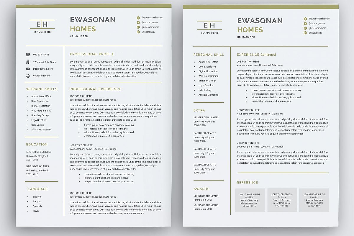 teacher resume one page or two