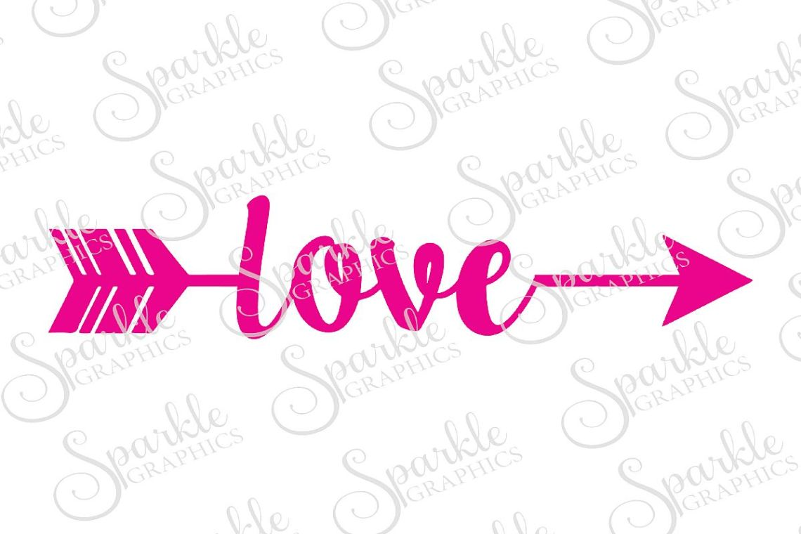 Download Love Arrow Cut File | SVG, EPS, DXF, PNG (50727) | SVGs ...