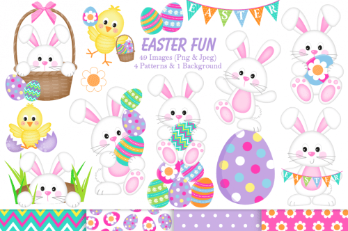 small resolution of easter clipart easter bunny graphics illustrations example image 1