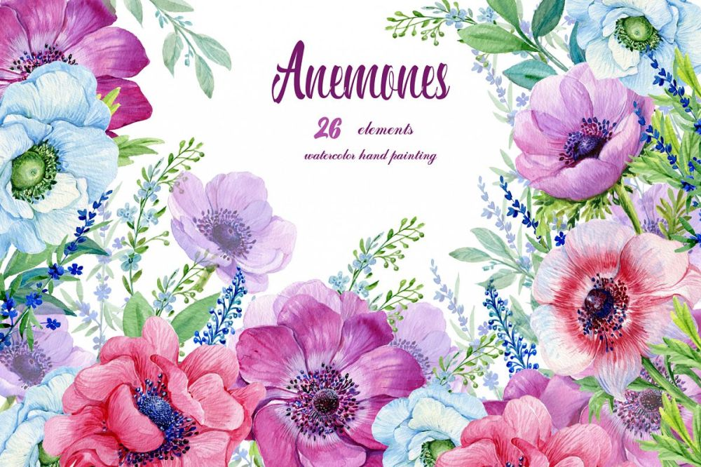 medium resolution of flowers clipart purple flowers floral elements flower backgrounds watercolor
