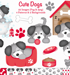 dog clipart dogs c37 example image 1 [ 1200 x 799 Pixel ]