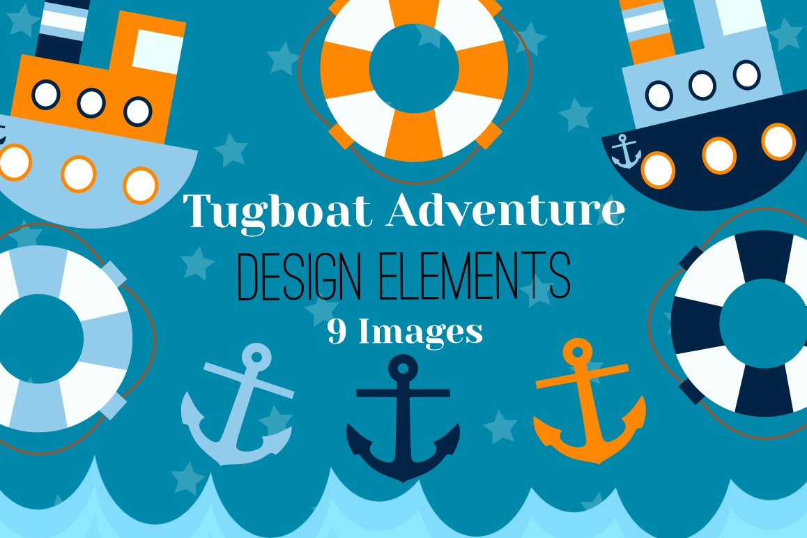 hight resolution of tugboat graphics illustrations clipart example image 1