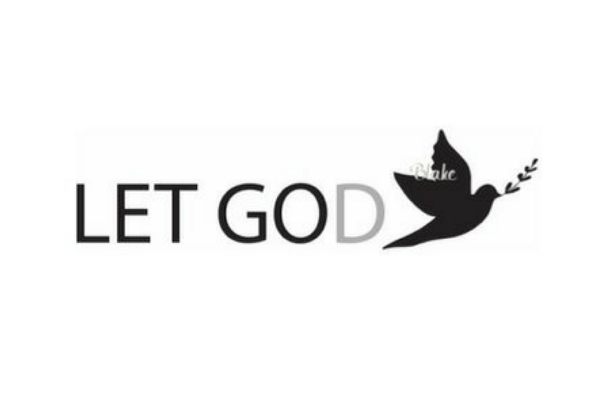 Let Go and Let God svg God's will Christian svg cut file