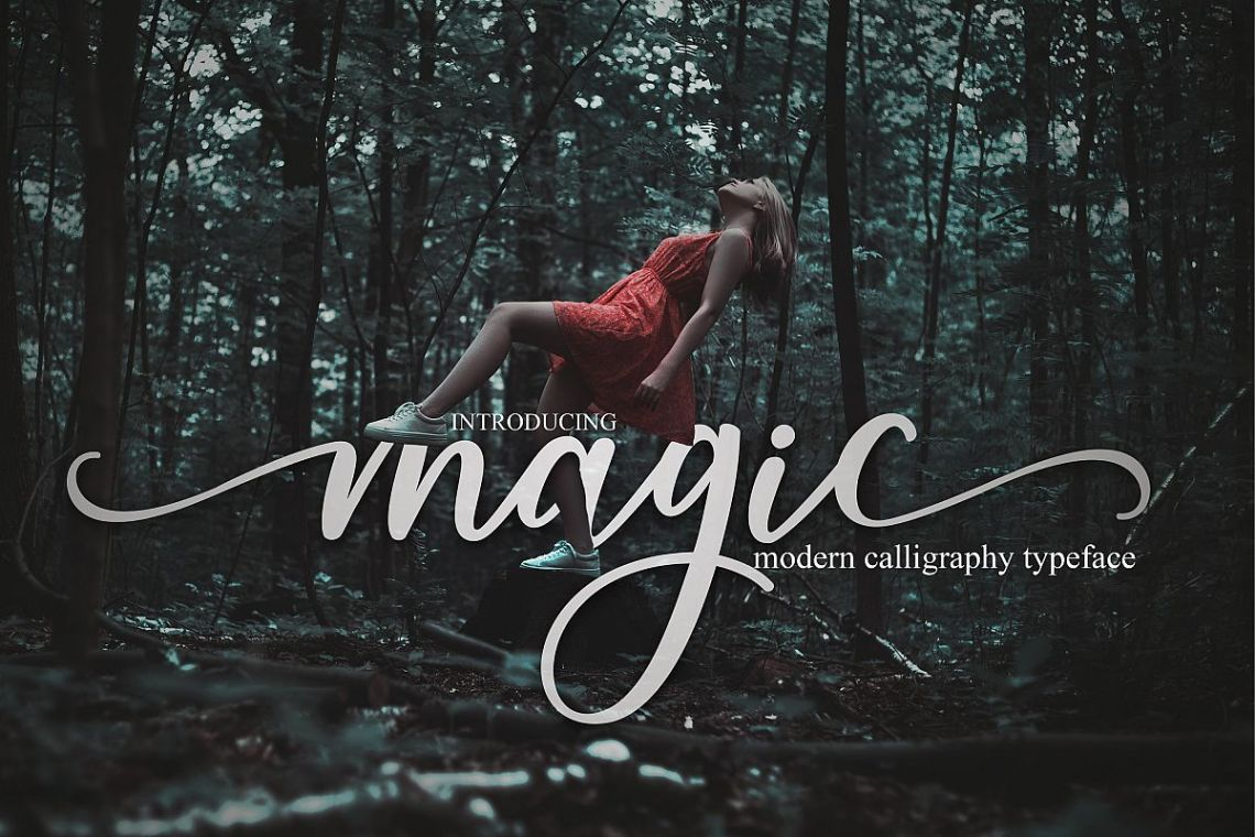 Download magic script (159954) | Script | Font Bundles