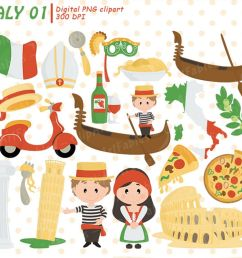 italy clipart rome clip art pizza pisa tower colosseum example image 1 [ 1200 x 800 Pixel ]