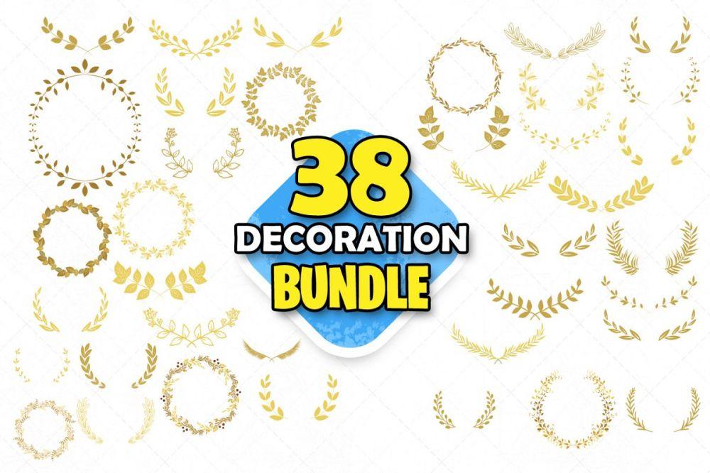 medium resolution of decoration clipart gold decoration clip art wedding clipart example image 1