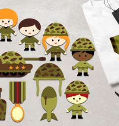 military clipart army kids soldier tank medals graphics example image 1 [ 1200 x 800 Pixel ]