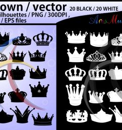 crown svg crown crown clipart crown silhouette vector example image 1 [ 1158 x 772 Pixel ]