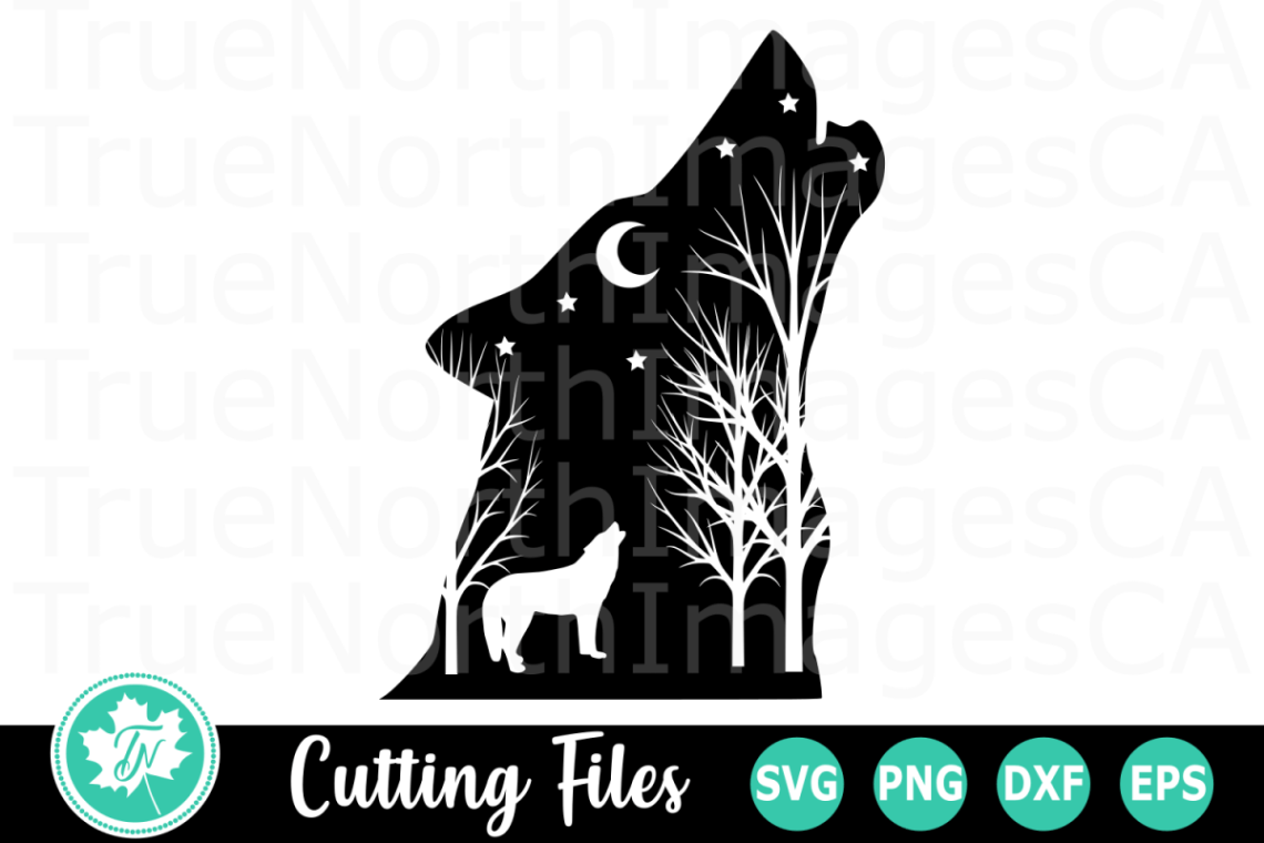 Download Wolf Silhouette - An Animal SVG Cut File