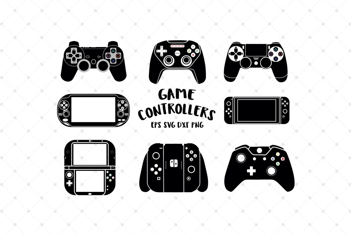 Game Controller Svg Cut Files