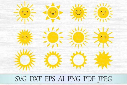 small resolution of sun svg sun clipart cute sun svg file sun face svg example image