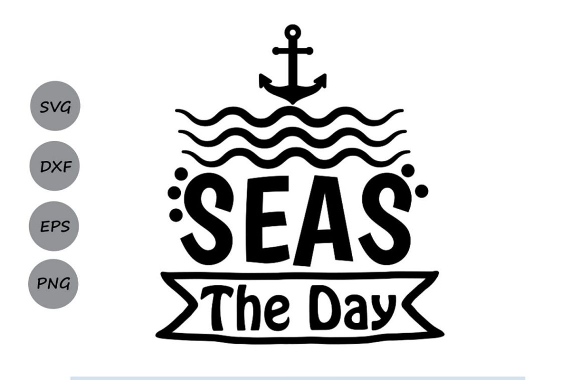 Download Seas The Day SVG, Summer SVG, Beach SVG, Summer Vacation ...