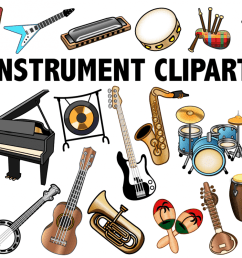 musical instrument clipart example image 1 [ 1200 x 799 Pixel ]