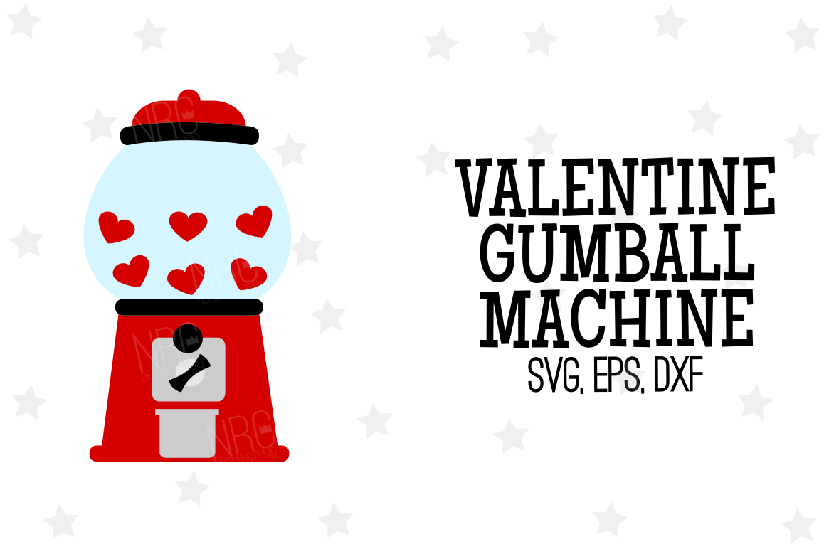 hight resolution of valentine gumball machine svg file example image 1