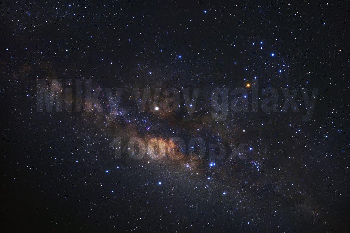 milky way galaxy high