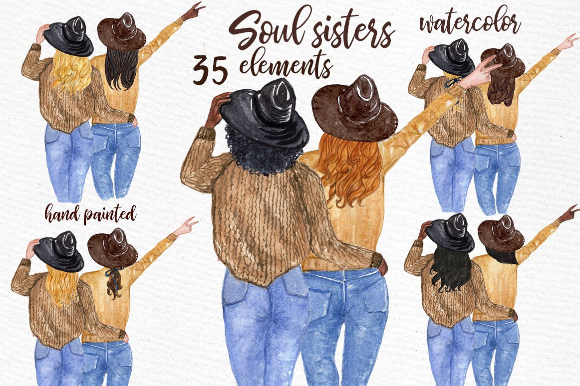 hight resolution of best friends clipart soul sisters clipart bff clipart example image 1