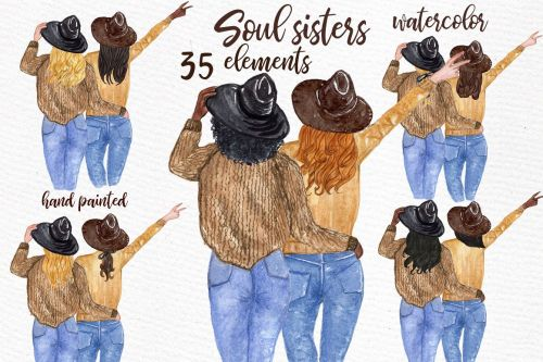 small resolution of best friends clipart soul sisters clipart bff clipart example image 1