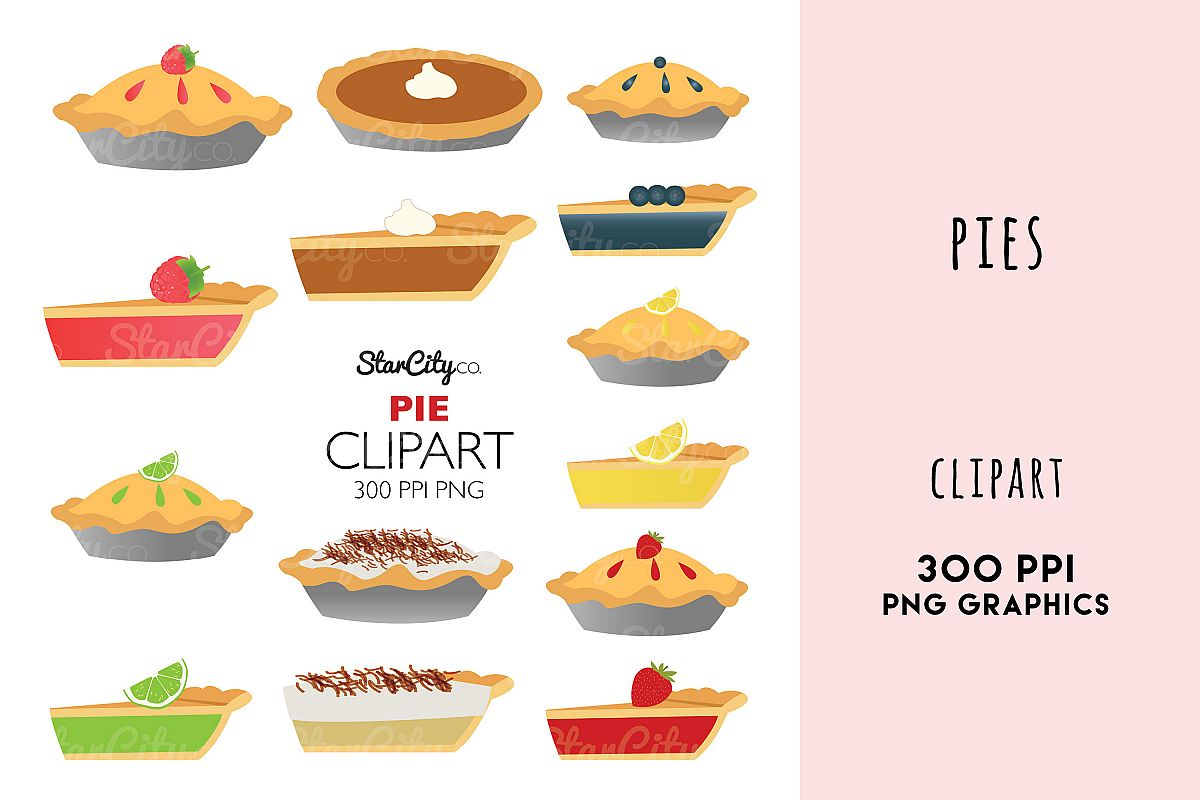 hight resolution of pie clipart graphics pumpkin pie lemon meringne example image 1