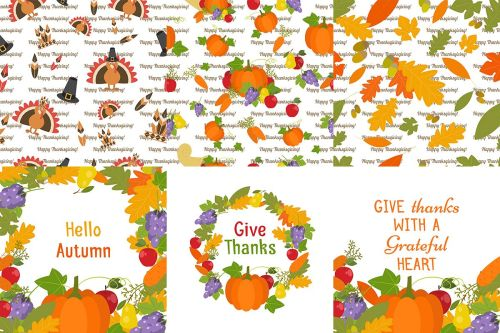 small resolution of happy turkey and pilgrim thanksgiving clipart example image 1
