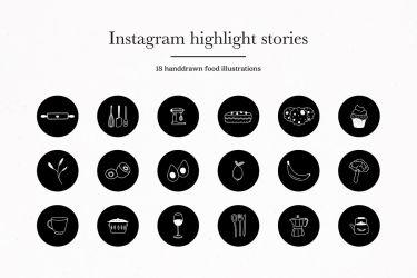 icons highlights story covers kitchen designbundles icon designer follow disimpan dari