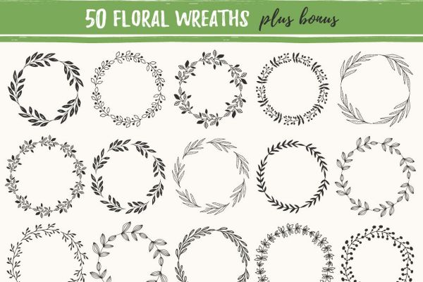 wreath template free svg # 44
