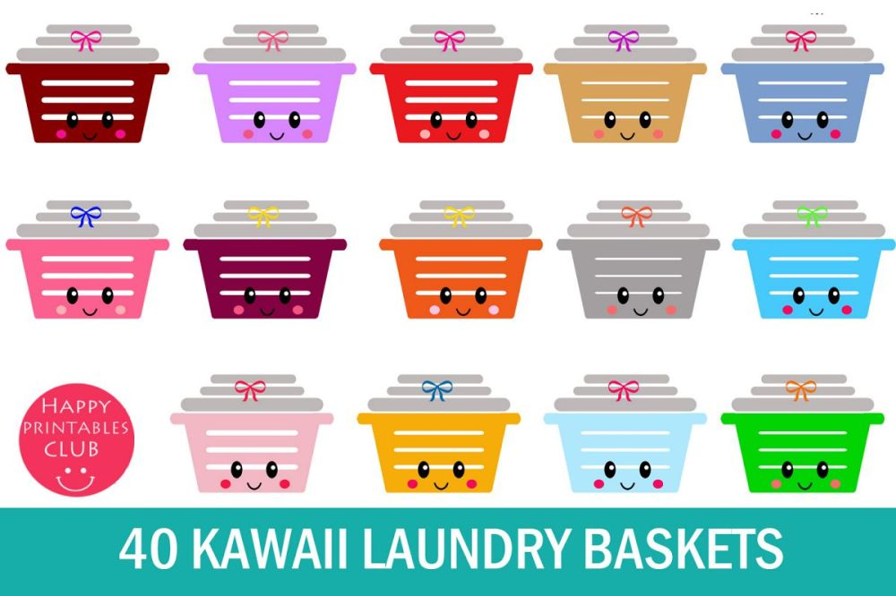 medium resolution of 40 kawaii laundry basket clipart laundry basket clipart example image 1